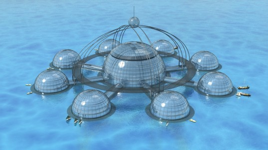 underwater biosphere, sub biosphere 2, biosphere, self-sufficient, self-sustainable, sustainable, underwater city, eco city, floating city, phil pauley, seed bank, green design, eco design, sustainable building