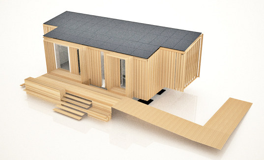 solar decathlon, solar decathlon 2010, europe solar decathlon, team finland, luuku house, net-zero home, plus-energy home, madrid, finland, timber construction, energy efficiency, green design, eco design, sustainable building