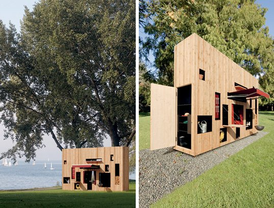 skinny prefab garden shed is just 3 feet wide inhabitat green design innovation architecture green building - Garden Sheds 3 Feet Wide
