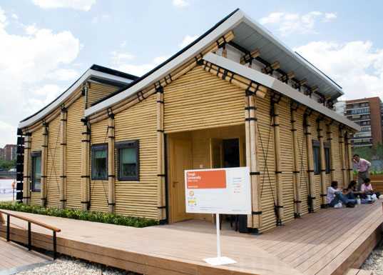solar powered home, renewable energy, off the grid, solar power your home, solar decathalon europe, BAMBU HOUSE, Tonji University Shanghai, bamboo house, sustainable building competition