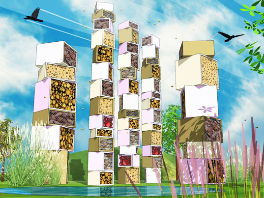 Beyond the hive inn vertebrate inhabitat green design innovation architecture green - The hive inn hotel ...