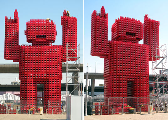 sustainable design, recycled materialscratefan, coca-cola, johannesburg, south africa, recycling, green design