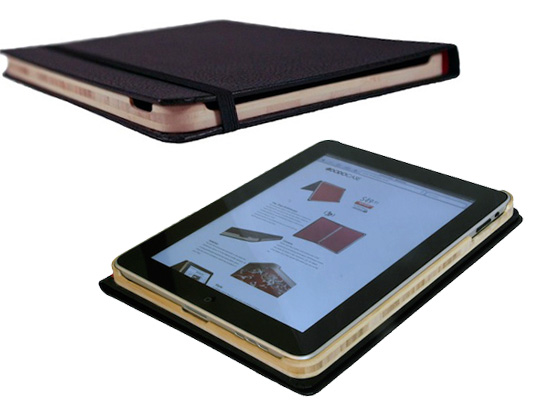 bamboo, hand made products, eco friendly iPad case, iPad, iPad accessories, DODOcase, sustainable design, green design