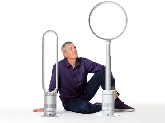 james dyson, bladeless fans, jet engine fans, heating and cooling, fans, air conditioning, energy efficiency, sustainable design