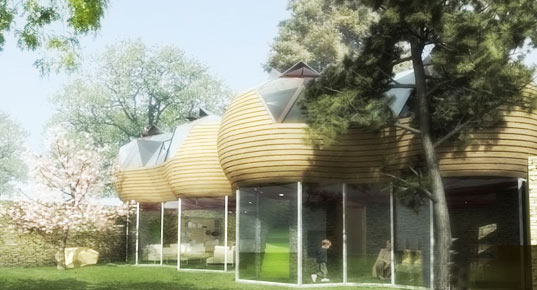 Cyril-Emmanuel Issanchou, EC* Cocoon, prefabricated housing, prefab, modular housing, green design, eco design, sustainable design, green architecture, green home, eco home, sustainable home, modular home, cocoon house