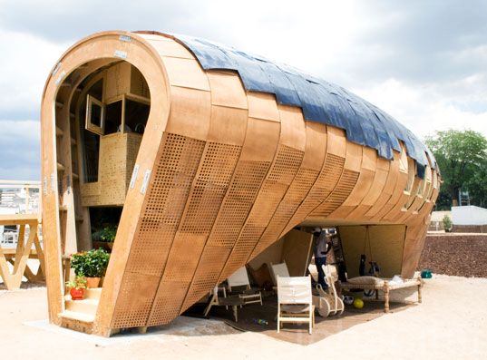 Stunning FabLab Passive House Unveiled at Europe's Solar Decathlon |  Inhabitat - Green Design, Innovation, Architecture, Green Building