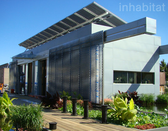 Lumenhaus is pulling ahead at the solar decathlon with for Cost to build a house in virginia