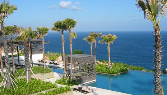 "grey water reuse"", ""sustainable architecture"", Alila Villas Uluwatu, Bali resort, biodiesel, Bioswale, eco resort, environmental resort Indonesia, Green Building, local materials architecture, native plant landscape architecture, natrual cooling design, salt water pool"