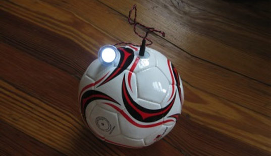 soccket, kinetic energy, renewable energy, green energy, energy generating soccer ball, energy generating toys, developing nations, green toys, green play, eco design, green design, , sustainable design
