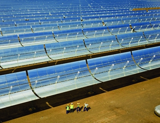 sustainable design, green design, molten salt solar plant, sicily, italy, renewable energy, clean tech,k concentrated solar plant