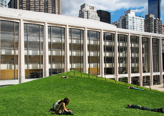 Lincoln Center, sustainable design, green building, sustainable architecture, Diller Scofidio & Renfro, green renovation, Laurie M. Tisch Illumination Lawn