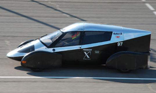 edison2, very light car, automotive x-prize, 100 mpge, progressive automotive x-prize, green transportation