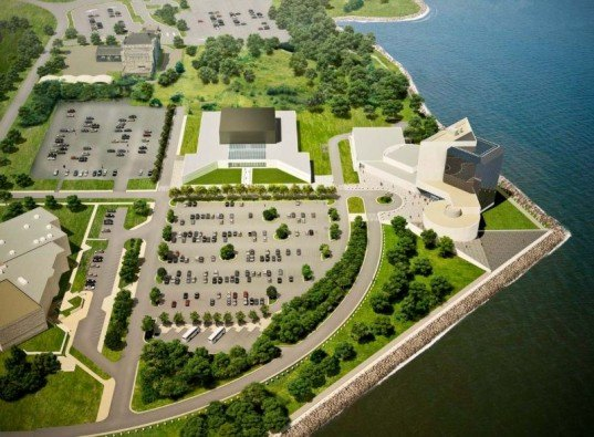 Rafael Viñoly Architects, edward m kennedy institute, boston, leed certification