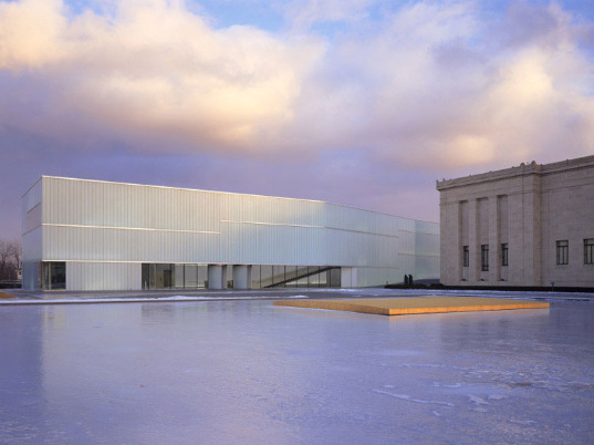 steven holl, bloch building, green design, daylighting, nelson-atkins museum of arts