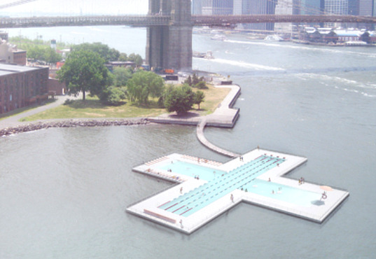 + pool, floating pool, water filter, new york city, water issues