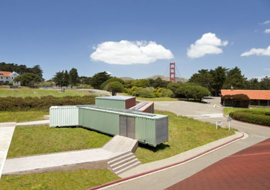 AIACC, architecture awards, AIA, design awards, FOR/SITE, Ogrydziak/Prillinger Architects, Presidio Habitats, shipping containers