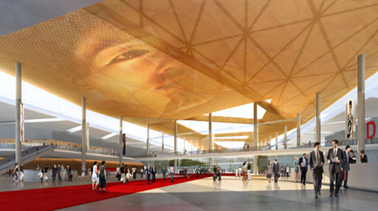 Shijiazhuang International Exhibition and Convention Centre, woods bagot, china, sustainable design