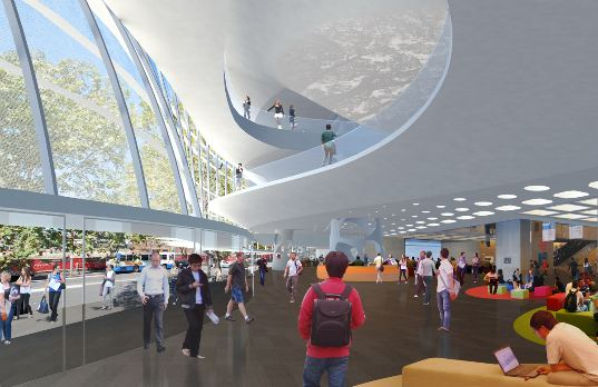 Frank Gehrys Paper Bag Building Opens At The University Of