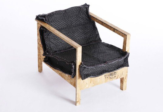 Chris Ruker Distressed Material Furniture Collection