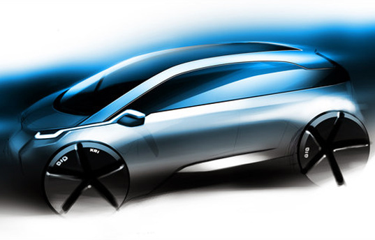 bmw, ev, phev, electric vehicle, sustainable design, green design, green transportation