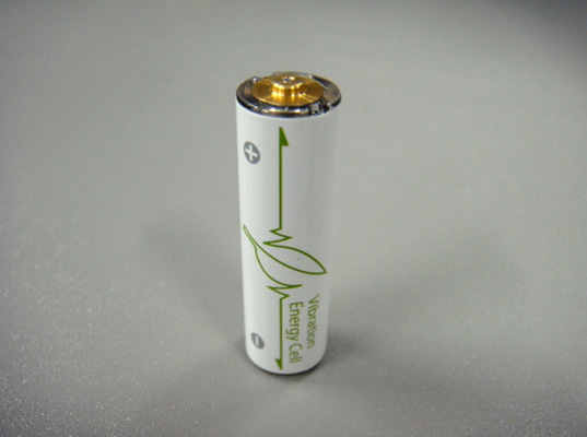 brother industries, vibration-powered generating battery, rechargeable batteries, batteries, sustainable design, shaking, batteries you shake