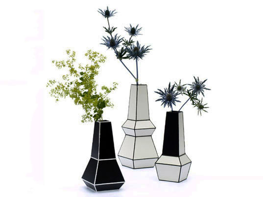 Recycled materials, recycled plastic, phil cuttance, weld vases, green interiors, green vases, recycled vases, eco-friendly vases, ABS plastic