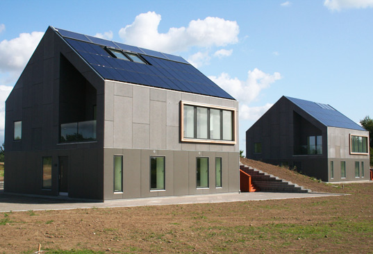 sustainable design, green design, solar energy, sustainable architecture, green building, energyflex house, denmark, Danish Technological Institute, Henning Larsen Architects