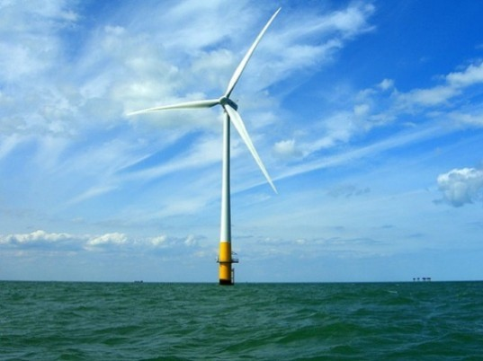 Offshore Wind Farm, lake erie, sustainable design, green design, renewable energy, wind power, wind turbine, clean tech, green power
