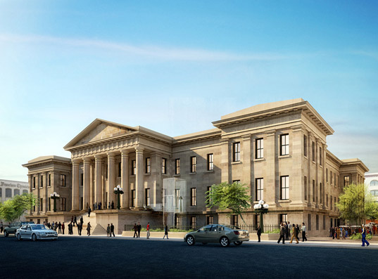 San Francisco Mint Renovation by HOK, sustainable design, green design, green building, adaptive reuse, sustainable architecture, green renovation