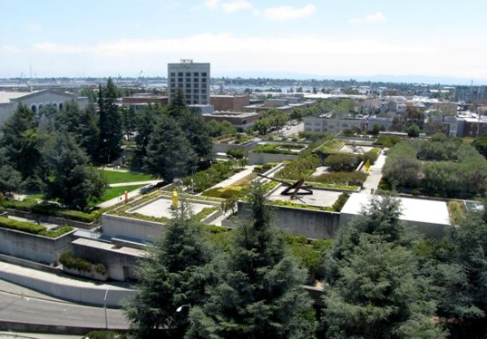 Oakland Museum renovation, Kevin Roche Oakland, Mark Cavagnero, Green roof museum, brutalism, brutalist, museum renovation, 12th st project, Downtown revitalization, museum upgrade, green museum,