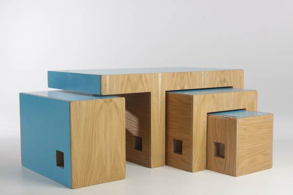 The ReStyle Modular Coffee Table Is Perfect For Compact Spaces | Inhabitat    Green Design, Innovation, Architecture, Green Building