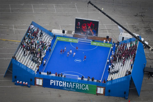 pitch: africa, pitch africa, world cup, soccer, Jane Harrison, David Turnbull ,Atopia Research, annenberg foundation, clean water, africa, south africa, soccer, soccer field that can provide clean drinking water, humanitarian design, design for health