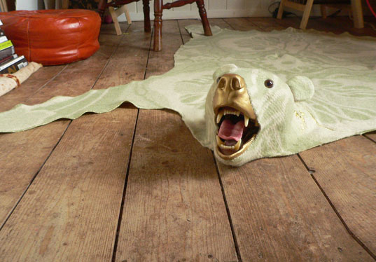 Kitchy Faux Bear Skin Rugs Are Perfect For Animal Lovers