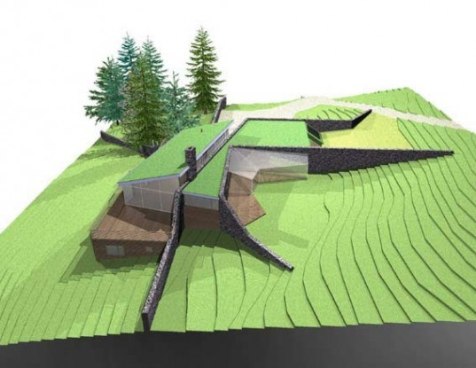 scotland, carbon neutral, cairn valley, green architecture, green home, sustainable architec