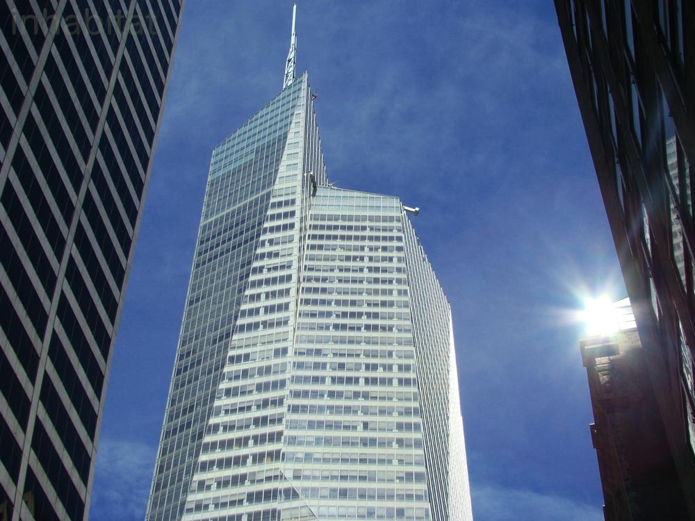 a research on the architectural design of the bank of america tower