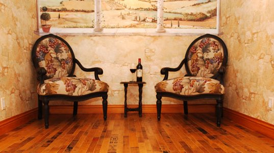 flooring, Recycled Materials, recycled wine barrels, recycled flooring, wine cellar flooring, bar flooring