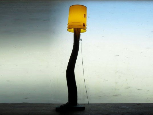 anzfer farms, joe ferriso, jon anzalone, recycled lamps, 5 gallon lamp, recycled materials, green lamps, wood lamps