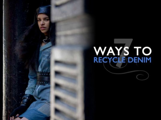 recycled denim, recycled jeans, eco-fas