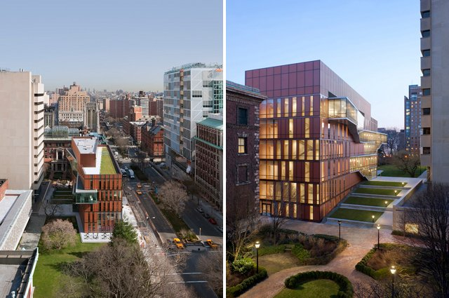 Barnard College S Diana Center Is A Green Roofed Gem In Nyc