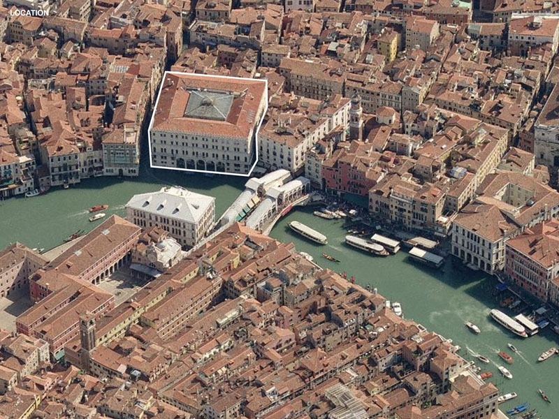 Fondaco dei Tedeschi, office for metropolitan architecture, OMA, Venice, Italy, Historic preservation, historic renovation