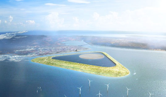 green power island, danish architecture firm, gottleib paludan, green energy storage, clean energy storage, energy storage, how to store energy, hydro energy storage