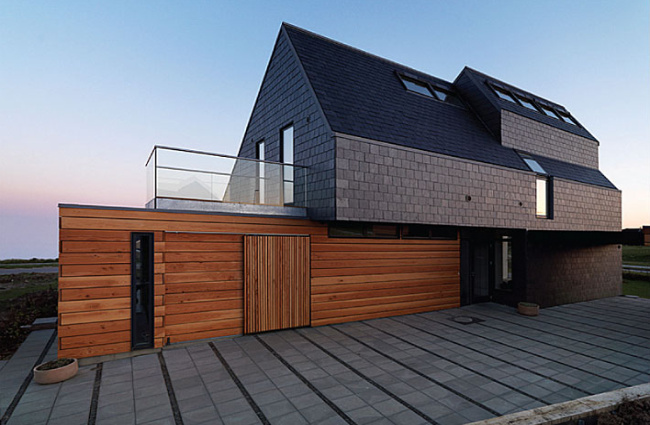 home for life, denmark, active house, net zero house, sustainable architecture, green building