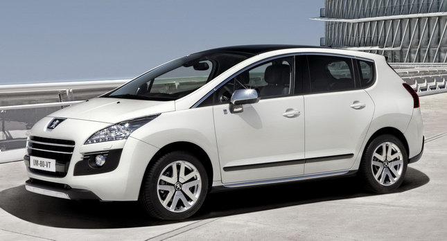Peugeot 2008 Hybrid4: The world\'s first diesel-fueled hybrid vehicle ...