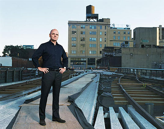 INTERVIEW: Landscape Architect James Corner On NYC's High Line Park