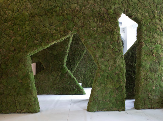 Moss your city gorgeous living walls sprout in london for Moss building design