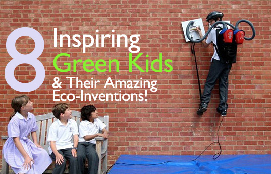 eco-innovations, eco-inventions, eco-kids, green kids