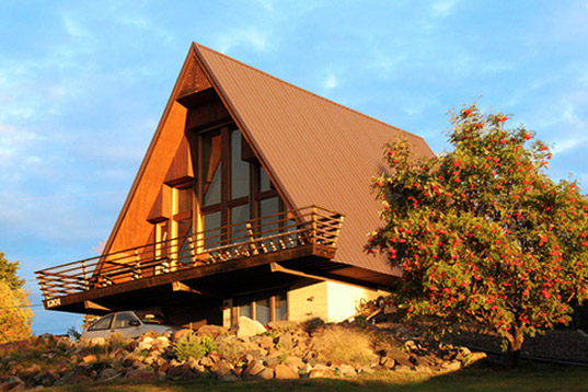 Lindal Homes: Reinventing the A-Frame as a Modern Green Home ...