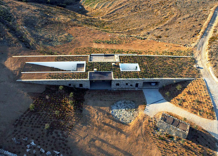 sustainable design, green design, aloni house, green building, sustainable architecture, underground house, deca architecture, Greece