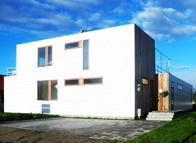 Danish Smart House Prefab Inhabitat Green Design
