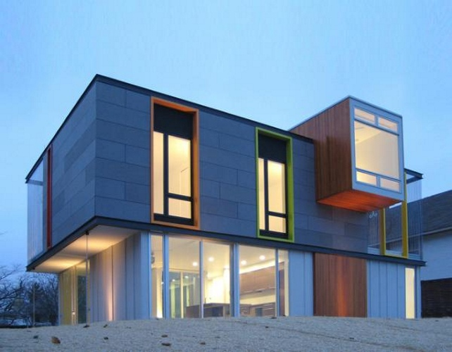 LEED Platinum House With A Brilliant Modernist Design. Architecture
